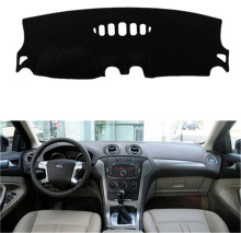 SJ Mobil Dalam Auto Dashboard Cover Dashmat Pad Karpet Sun Shade Dash Board Cover untuk Ford Mondeo 2007 2008 2009 2010 2011 2012(China)