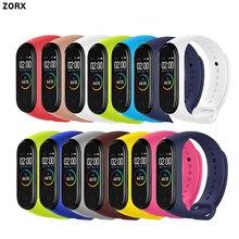 цена на Colorful MI Band 4 Accessories Pulseira Miband 4/3 Strap Replacement Silicone Wriststrap for Xiaomi MI4 Smart Bracelet Wristband