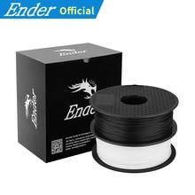 2 KG/Lots beyaz/siyah renk 3D yazıcı PLA Filament 1.75mm malzemeleri 3D yazıcı 1KG/rulo 3D yazıcı/3D kalem Ender Filament