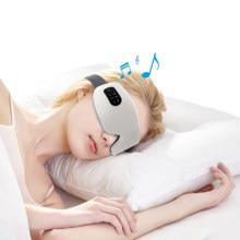 4D Smart Eye Massager Electric Bluetooth Eye Care Instrumen Heating Vibration Massage Music Relieve Eye Fatigue & Improve Sleep