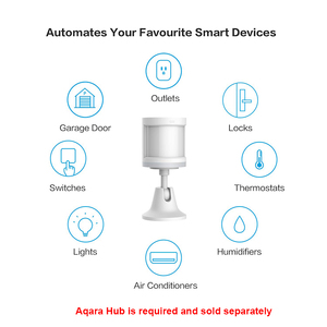 Groß verkauf Aqara Menschlichen Körper Sensor Smart Körper Bewegung PIR Motion Sensor wireless Wifi Zigbee Verwenden Mit Gateway für Mi hause App