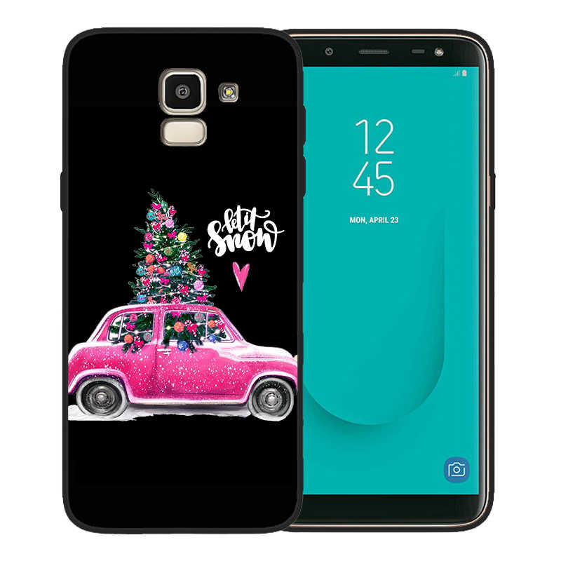 مثير عيد الميلاد شجرة فتاة هدية الهاتف حقيبة لهاتف سامسونج غالاكسي S10 حالة S8 S6 S7 S9 J2 J3 J5 J7 J4 J6 j8 2018 زائد Etui كوكه غطاء