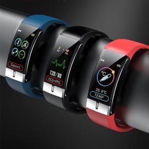 Doogee S88 Pro S95 X95 N100 Y9 artı S90 BL9000 BL5500 Lite S68 Pro akıllı Horloge ekg Temperatuur ölçüm polsband Slimme bant