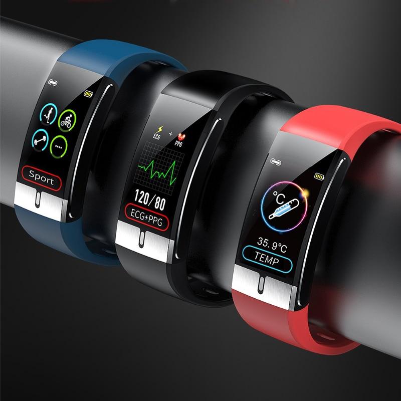 For Huawei Nova 7 SE 5G Honor X10 Pro Enjoy 10e Nova 6 5G Nova 5 Pro Smart Horloge Ecg Temperatuur Meting Polsband Slimme Band