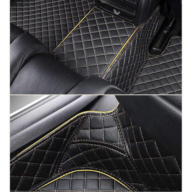 Пользовательские автомобильные коврики для Toyota Corolla Camry Rav4 Auris Prius Yalis Avensis Alphard 4Runner Hilux highlander sequoia коврик