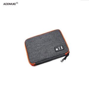 Image 1 - waterproof Ipad organizer USB data cable earphone wire pen power bank travel storage box kit case digital gadget devices