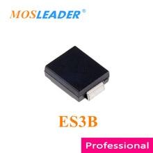 Mosleader ES3B SMC 1000 قطعة DO214AB 3A 100V صنع في الصين جودة عالية