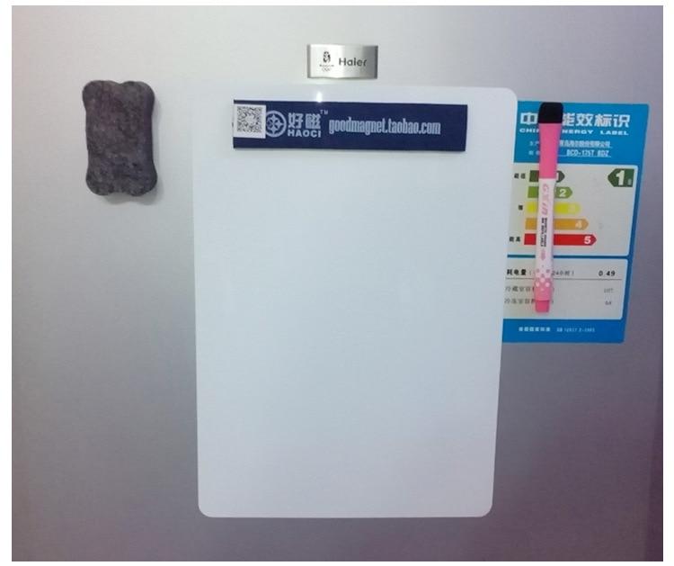 45*30cm Fridge Magnet Whiteboard Magnetic Soft Whiteboard Ofice Message Board Soft Whiteboard With Rounded Corners