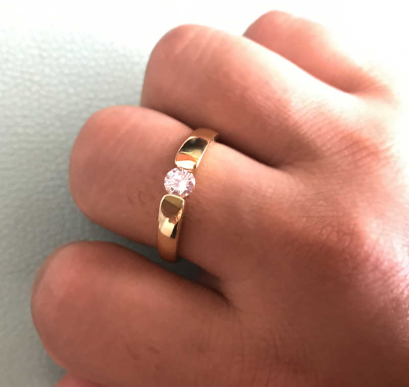 Имеют сертификат Оригинальное ювелирное изделие из драгоценных камней 925 Твердое серебряное и золотое покрытие Свадебные обручальные кольца для мужчин и женщин подарок ювелирные изделия JZ106
