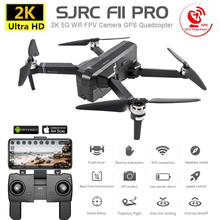 SJRC F11 Pro GPS Drone with 2K Camera Brushless Quadcopter 28mins Flight Time Wi