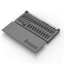 CS03B Lithium Battery Miniature Electric Precision Mobile Phone Screwdriver Driver Set Mini Automatic Screwdriver Combination