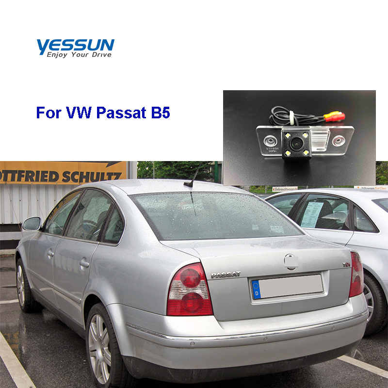 Yessun HD CCD Night Vision Car Rear View Reverse Backup Camera Waterproof For Volkswagen  Passat B5