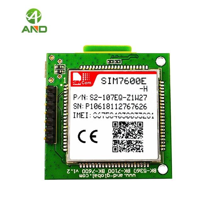 LTE CAT4 SIM7600E H הבריחה לוח, להקות B1 (2100)B3 (1800) B7 (2600) b8 (900)B20 (800DD)B5 (850)B38 (TDD 2600) b40 (TDD 2300)