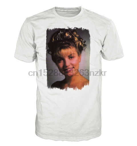 LAURA PALMER T-shirt. Inspired by the cult TV series Twin Peaks Printed T-Shirt Men Short Sleeve O-Neck T-Shirts Stree Twear