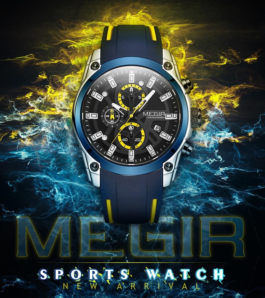 He2923d98d082459196bfe65a9bd463b4Q MEGIR 2020 Blue Sport Watches for Men