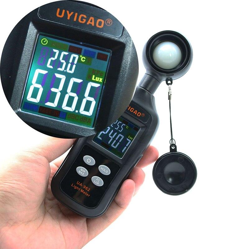 Digital Illuminance Meter Intensity Tester Portable Mini Lux Meter Light Meter Luminance Tester Measurement Tool For Photography