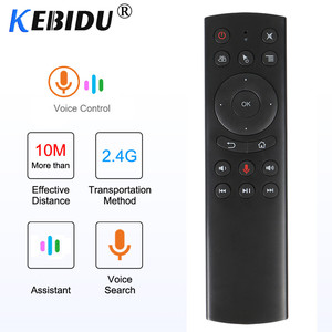 Image 5 - Kebidu G10S G20S G30S Gyro z pilotem uczenia IR 2.4G bezprzewodowy odpowiednio zaplanować podróż air mouse dla tv box z androidem dla Mini H96 MAX X99