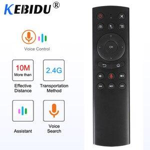 Image 5 - Пульт дистанционного управления Kebidu G10S G20S G30S, гироскоп, голосовое дистанционное управление, ИК обучение, 2,4G Беспроводная воздушная мышь для Android TV Box для Mini H96 MAX X99