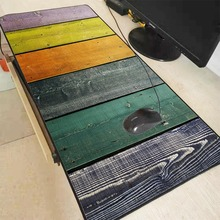 MRGBEST 90x40/80x30 Wood Board Colors Gaming Mouse Pad Rubber Locking Edge Super Large Mat for Dota 2 LOL CSGO Game Player Pads