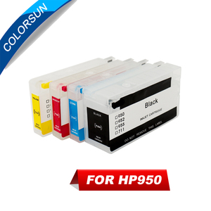 Colorsun for HP950 951 cartridge 950 XL 951XL for HP 8610 8620 8680 8615 8625 Printer Refillable Ink cartridge with ARC chip