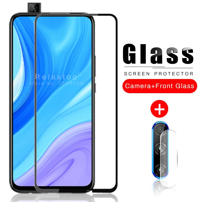 2-in-1 Camera Protector Glass For Huawei Y9s Y9 S S9y 2020 Stk-l21 6.59'' Phone Safety Tremp Protection Film Hauwei Huavie Y 9s