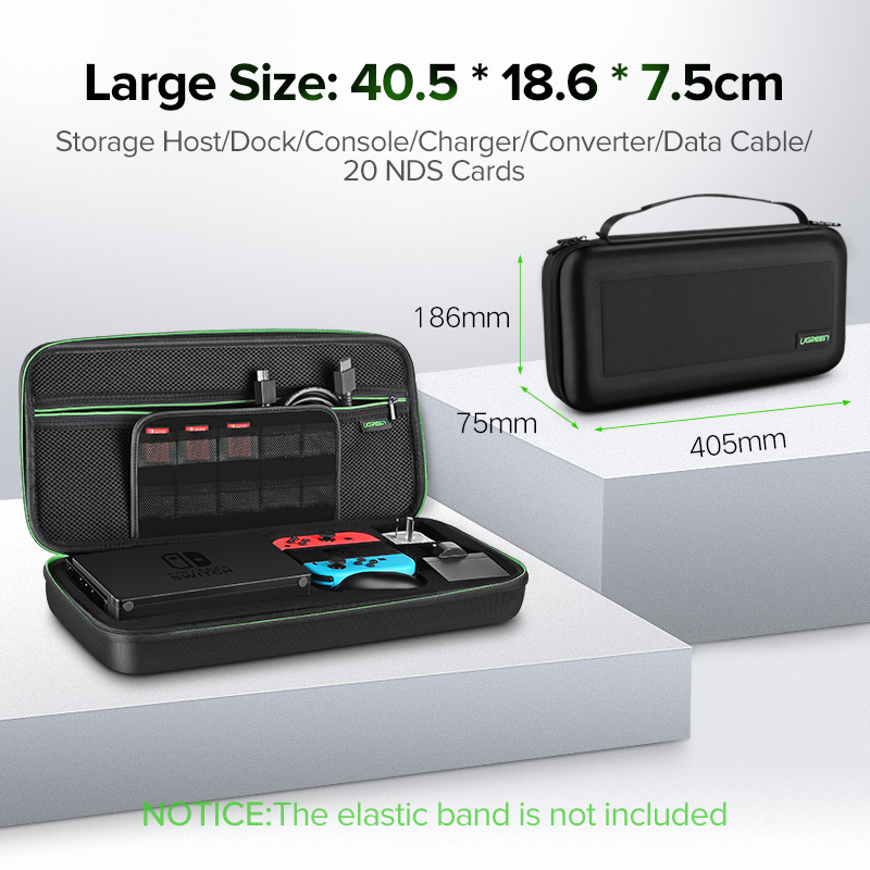 Ugreen Storage Bag for Nintend Switch Lite Nintendos Switch Console Case Durable Nitendo Case for NS Nintendo Switch Accessories