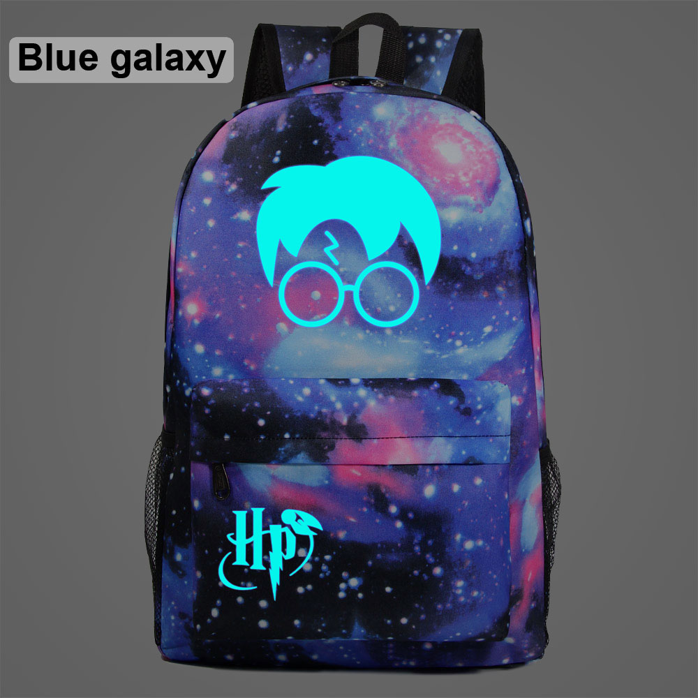 AL0305 Luminous Gift HP Face Lightning Children Boy Girl School Bag Teenagers Student Schoolbags Women Packsack Men Backpack