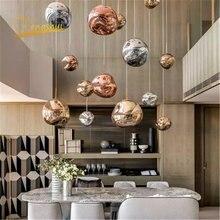 Nordic светодиодный подвесные светильники для Гостиная Лофт