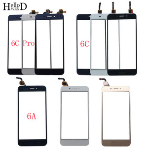 Mobile Touch Screen For HUAWEI Honor 6A 6C 6C Pro Digitizer Panel Front Glass Sensor TouchScreen 3M Glue Wipes