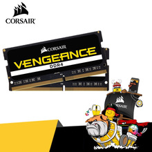 Obsługi CORSAIR Vengeance pamięć do notebooka pamięci RAM SO-DIMM DDR4 4G ram ddr4 2666/3000MHz 260pin 1.2V CL16 CL18 PC4 8G 16G 32GB dla laptop