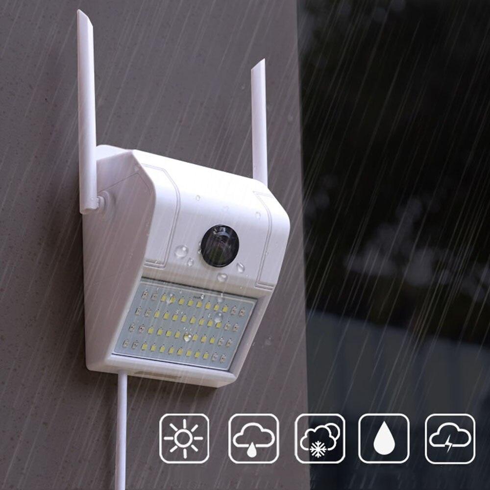 Xiaovv D6 Smart 1080P Waterproof Wall Lamp IP Camera 180° Panoramic Night Vision Detection Smart Baby Sleeping Monitor