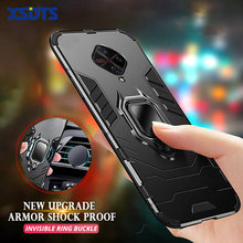 Xsdts Case Voor Vivo V19 V17 Neo V15 V11 Pro V11I India 5G Anti Shock Proof Bracket Ring Magnetische telefoon Cover Coque(China)