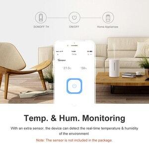 Image 5 - Itead Sonoff TH16 15A Wifi commutateur sans fil intelligent capteur de température et dhumidité eWeLink fonctionne avec Alexa Google Home IFTTT