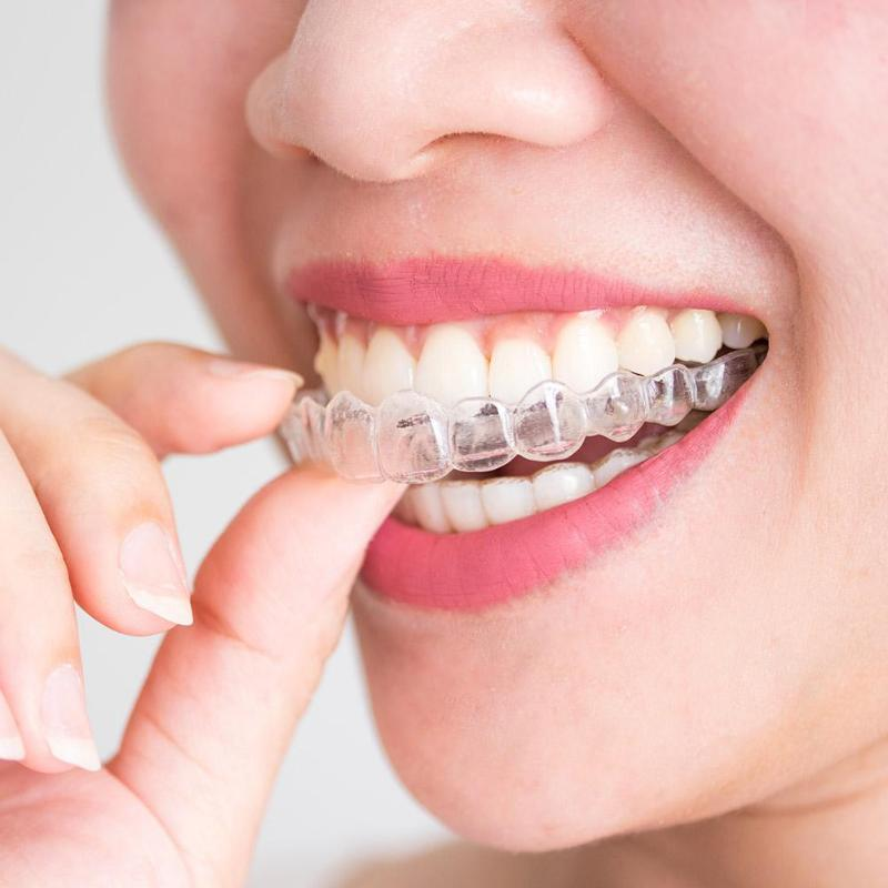 Thermoforming Dental Mouthguard Teeth Whitening Trays Excellent Transparent Soft Silicon EVA Bleaching Tooth Whitener Safety