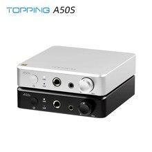 Tamping a50s 4.4mm equilibrada 6.35mm single-ended flagship nfca hi-res áudio pré amplificador de auscultadores amp