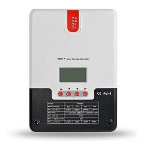 60A контроллер солнечного зарядного устройства 12 В 24 в 36 в 48 в авто свинцово-кислотный аккумулятор литий-ионный контроллер заряда макс 150 в со...