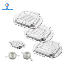 High Power UV Led 3W 5W 10W 20W 30W 50W 100W 365nm 375nm 385nm 395nm 405nm 420nm Led Light Chip