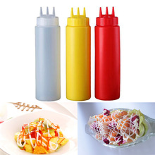 Squeeze-Bottle Ketchup Sauces Mustard Kitchen-Gadgets Olive-Oil Mayo Plastic Hot-Sale