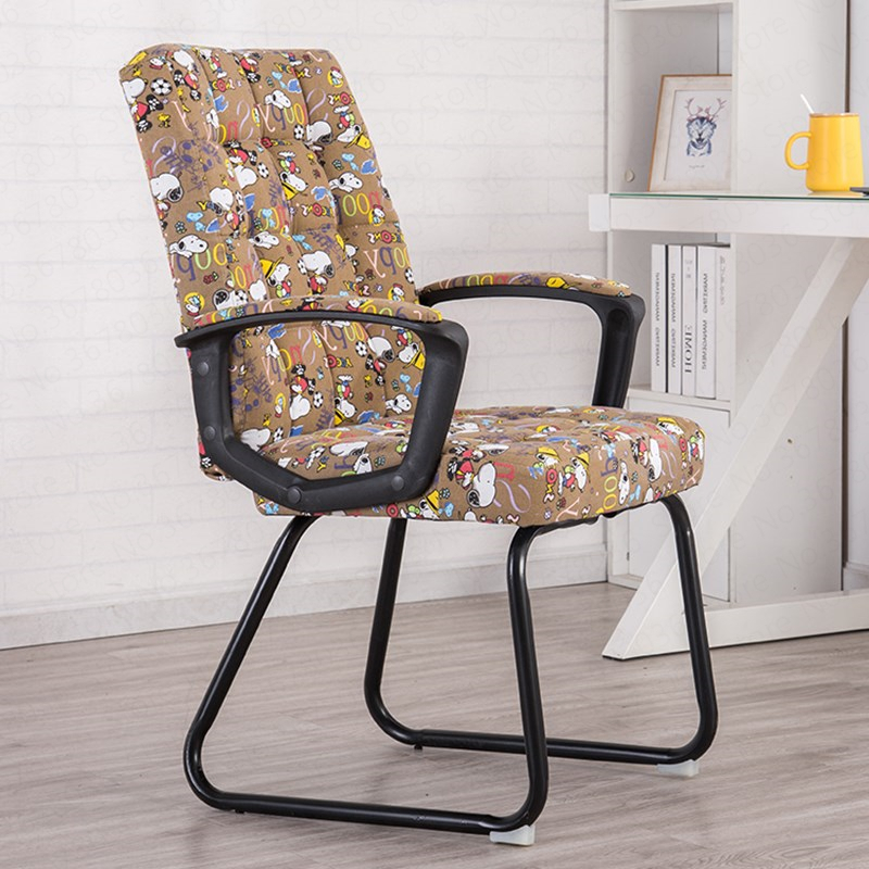 Computer Chair Home Lazy Office Chair Staff Conference Student Dormitory Chair Modern Simple Backrest Chair