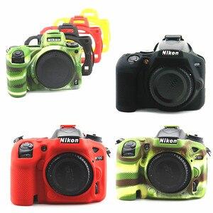 Image 1 - سيليكون درع الجلد DSLR كاميرا الجسم حالة غطاء حقيبة لنيكون Z7 Z6 D780 D3500 D5300 D5500 D5600 D7100 D7200 D7500 D750 D3400