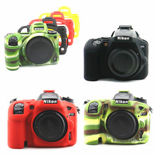 Funda de silicona para cámara DSLR, funda protectora para Nikon Z7, Z6, D780, D3500, D5300, D5500, D5600, D7100, D7200, D7500, D750, D3400