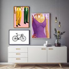 Модный винтажный постер по мотивам игры в гольф велосипедный