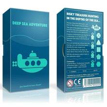 2-6 Players Family/Party Best Gift for Children Funny English Game Deep Sea Adventure Board Game(China)