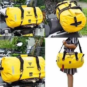 Image 5 - Waterproof Large Capacity Storage Bag Motorcycle Cycling Hiking Bag for Rafting Canoe Boating Trekking Swimming Travel Bag
