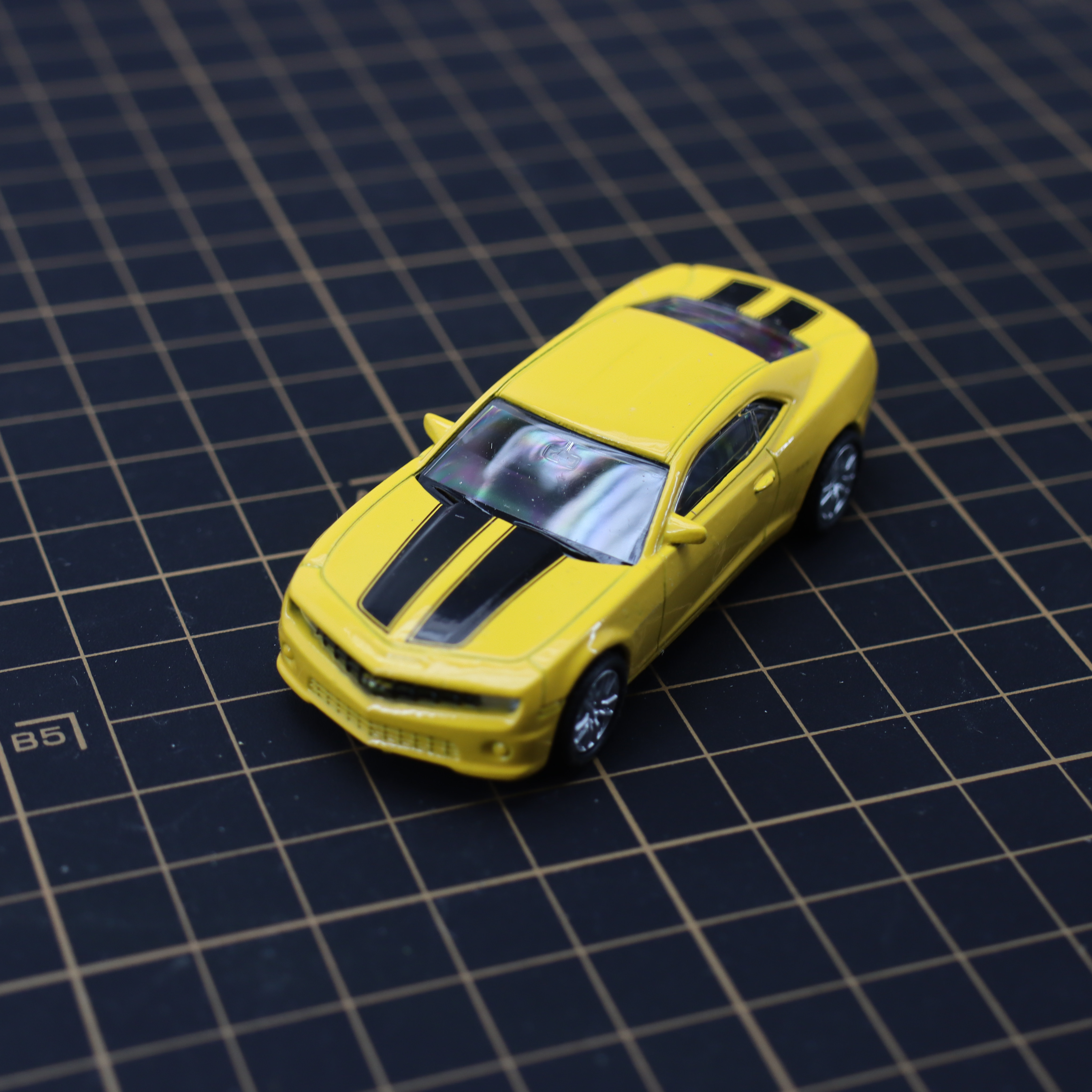 Diecast Alloy Toy Car Camaro 1/64 Pull-Back-Movable