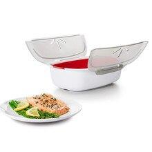 Nova caixa de vapor de silicone vapor com tampa forno microondas a vapor para pão cozido no vapor pão pão bolinho peixe ferramentas cozinha cozinhar ferramentas