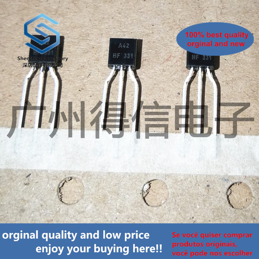 50pcs 100% Orginal New MPSA42 A42 TO-92 High Voltage Transistors(NPN Silicon) Real Photo
