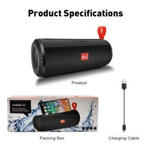 Image 5 - M&J Wireless Bluetooth portable Speaker Stereo Subwoofer column loudspeaker+TF Built in Mic Bass FM USB MP3 Sound Boom Box