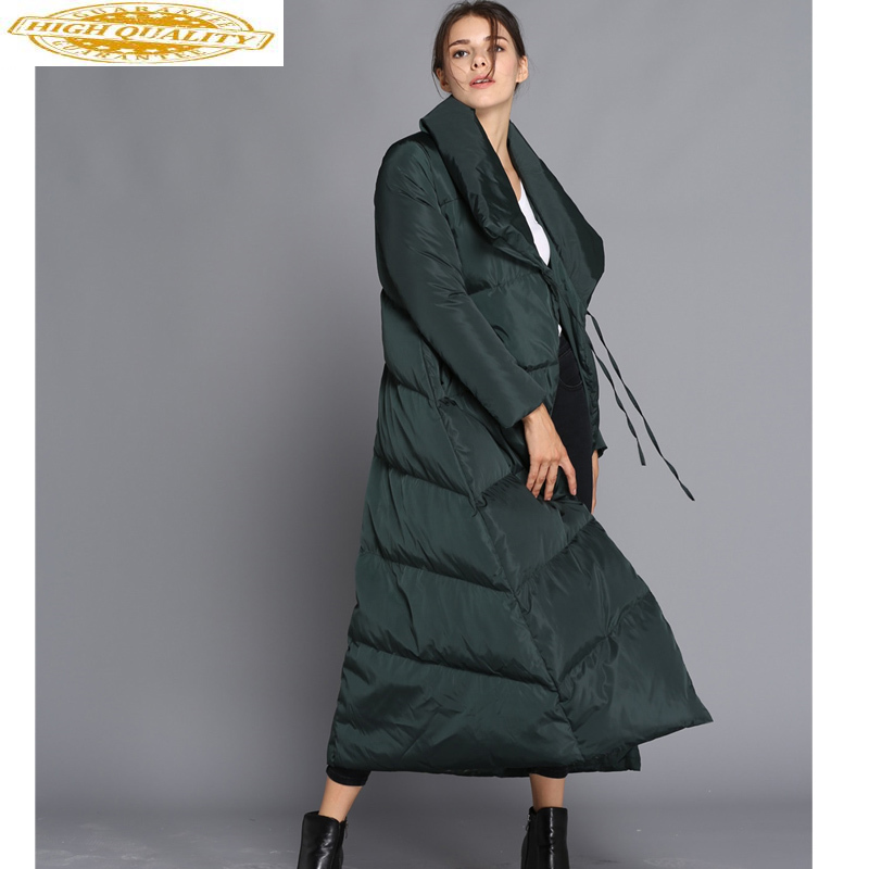 2020 Long Duck Down Jacket Women Winter Coat Thick Puffer Jacket Fashion Jackets For Women Casacas Para Mujer JL-1611 KJ2597