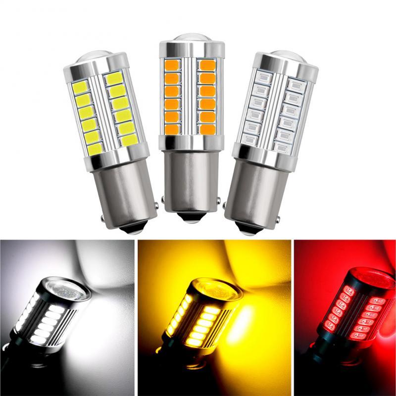 2 шт. 1156 Bay15d 1157 Автомобильный светодиодный сигнальная лампа DRL супер яркий противотуманных фар авто светодиодные задние тормоза Обратный па...